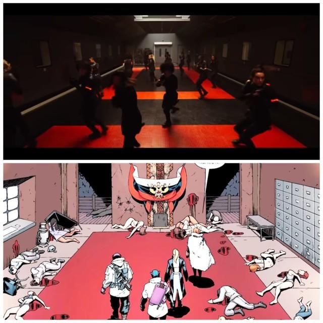 Easter Eggs in Marvel Black Widow Trailer- Red Room