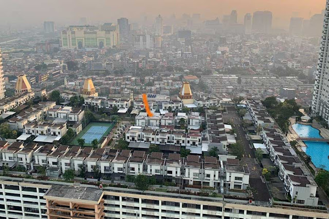 CosmoPark khu đô thị trên trời, Indonesia