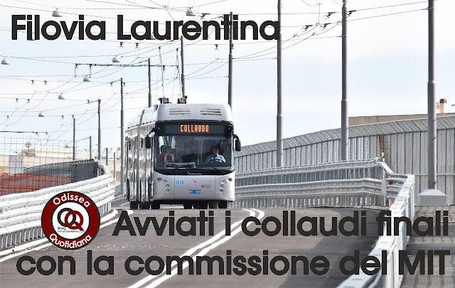 Filovia Laurentina: pronti a partire!