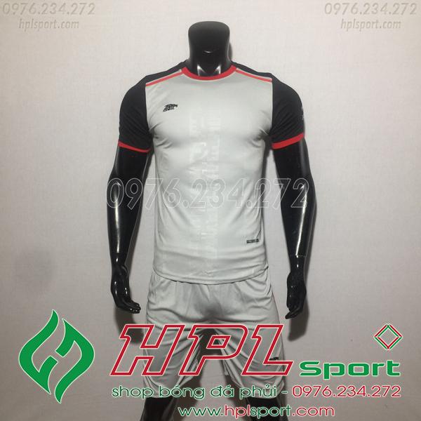 Áo bóng đá ko logo Eureka HAT TV  Màu Xám