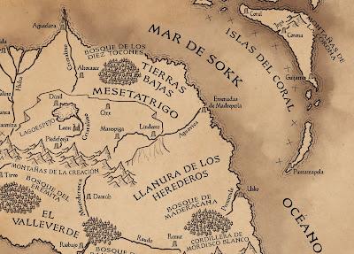 mapa de Hann
