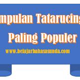 Kumpulan Tatarucingan Bahasa Sunda Populer