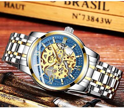 Wrist Watch Luxury Stainless Steel Watch