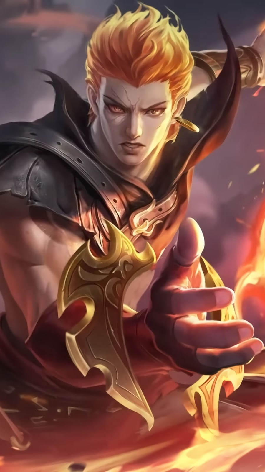 Wallpaper Valir Son of Flames Skin Mobile Legends HD for Android and iOS
