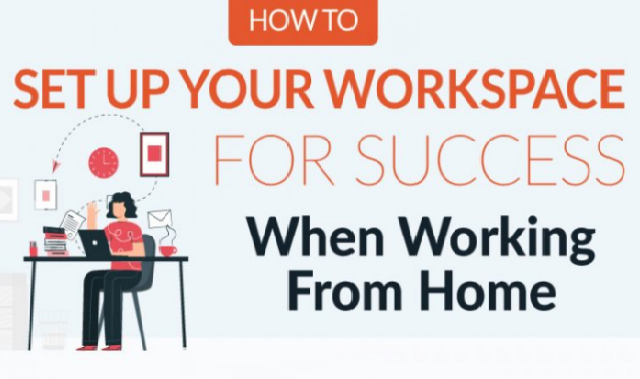 Ensure Success While Working From Home #Infographic