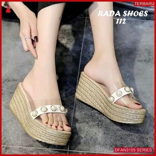 DFAN3155S231 Sepatu Ss 28 Wedges Wanita Casual 7cm BMGShop
