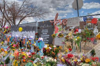 Crosses at the Memorial