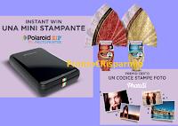 Logo Bauli ''Concorso Grandi Firme Immagini'': vinci mini stampanti Polaroid e un premio certo per tutti