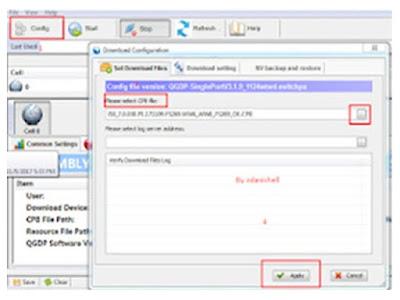 Cara Flash Lenovo A5 L18021 Via QGDP Tool