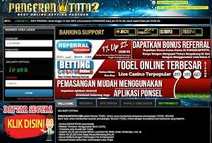 Tampilan website pangerantoto2 - Pangerantoto2 situs website resmi