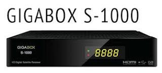 NOVA ATUALIZAÇÃO DA MARCA GIGABOX GIGABOX-S1000