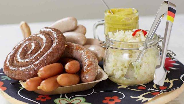 O Sauerkraut está em todas.