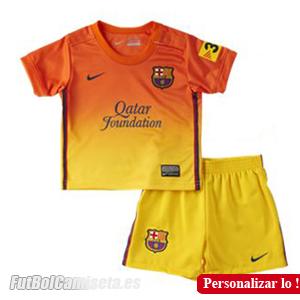 Camiseta de Niño del FC Barcelona lejos temporada 2012 2013. Ya puedes  conseguir la nueva camiseta del Barça en tallas infantiles. 965e1ed02623d