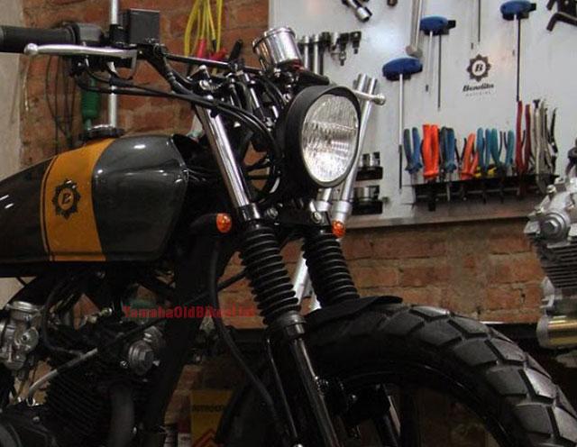 Yamaha Ybr 125 Cafe Racer Scrambler
