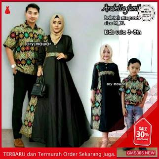 GMS305 TNTBT306S182 Sarimbit Keluarga Family Batik Gamis Dropship SK1370644322