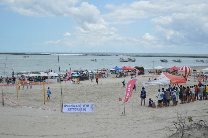 2ª etapa dos Jogos de Verão movimenta a praia de Pernambuquinho