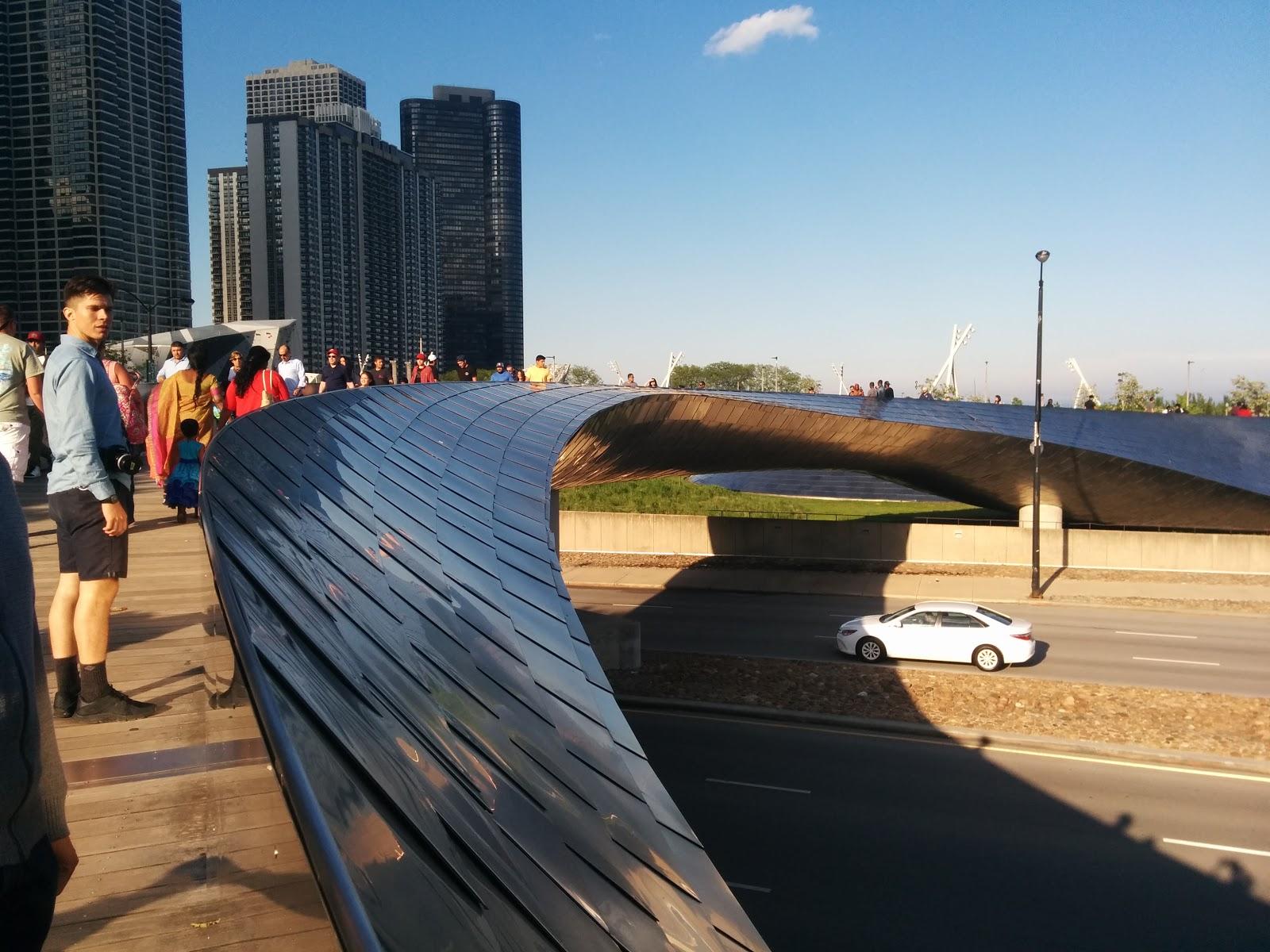 BP Bridge - also Frank Gehry