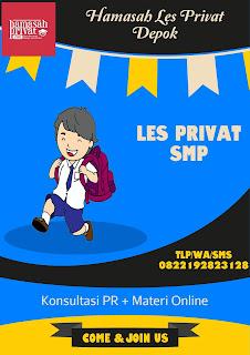 les privat smp depok