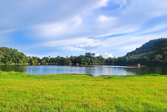 The scenic Lake Apo