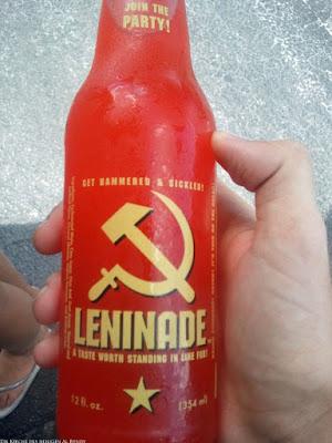 Lustiges Getränk mit witzigem Namen Leninade - Kommunismus lustig
