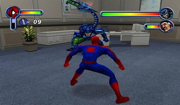تحميل لعبة spider man 1 كاملة