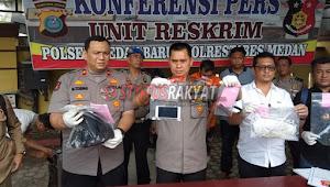 Kapolrestabes Medan Bangga Atas Kinerja Personel Polsek Medan Baru yang Berhasil Menangkap Pembunuh Sadis di Jalan Punak