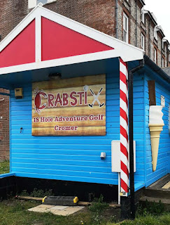 Crabstix Adventure Golf in Cromer. Photo by Christopher Gottfried, 19th May 2019