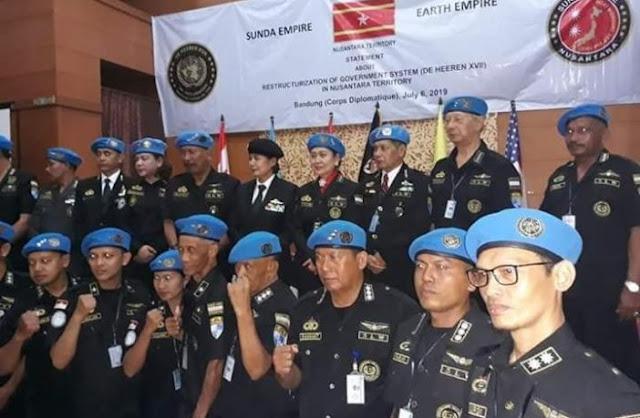 Keraton Sejagat Runtuh, Sunda Empire Muncul di Bandung