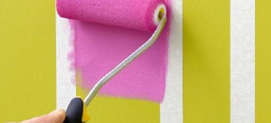 Altura con rayas verticales decorar paredes - Papel pintado a rayas verticales ...