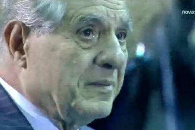 ΑΠΙΣΤΕΥΤΗ ΕΙΚΟΝΑ: Τα δάκρυα του Παύλου Γιαννακόπουλου