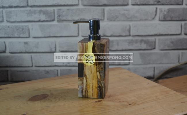 jual soap dispenser batu alam