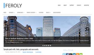 Feroly-Blogger-Template