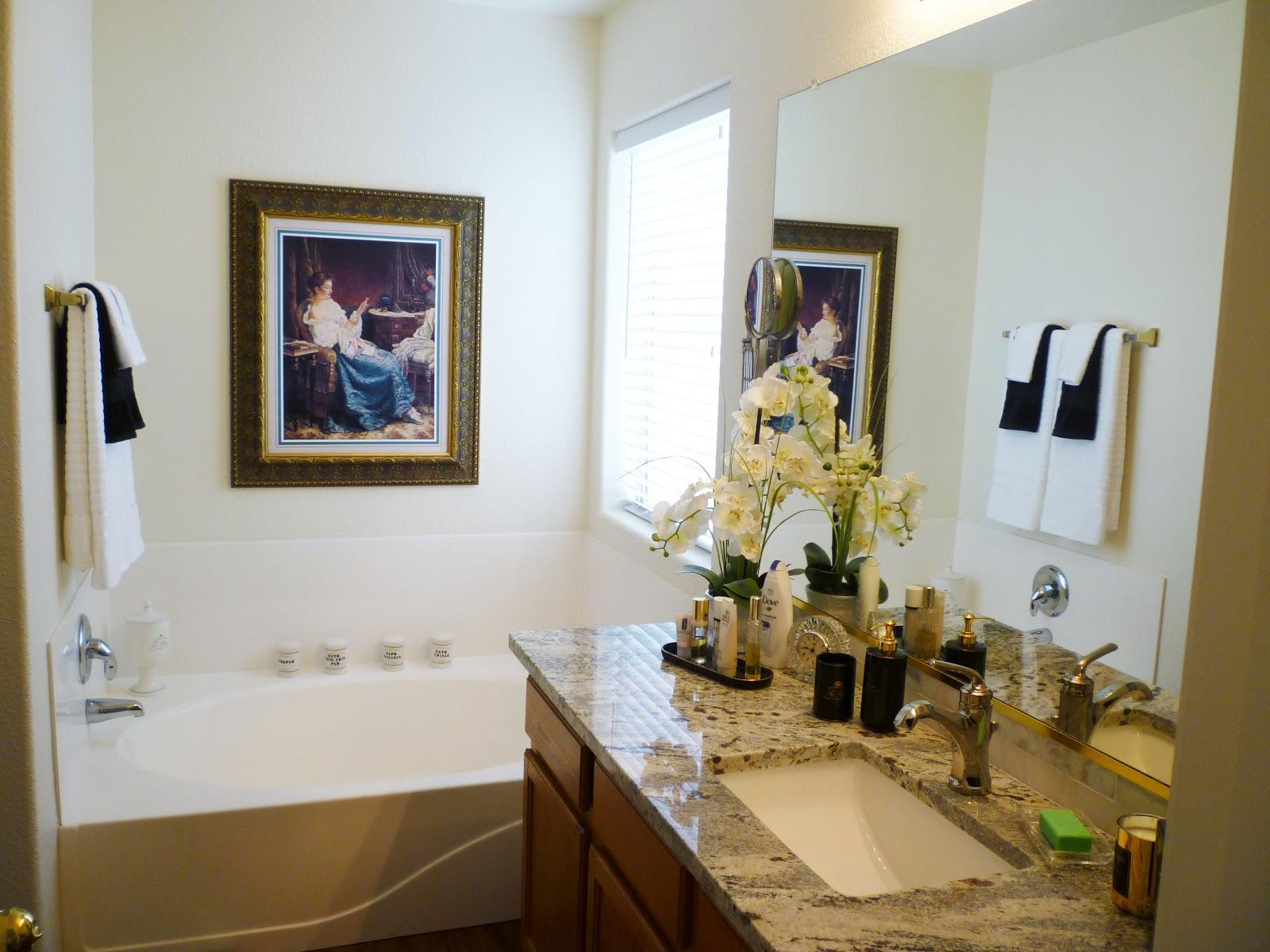 A Stroll Thru Life: Master Bathroom Makeover Progress