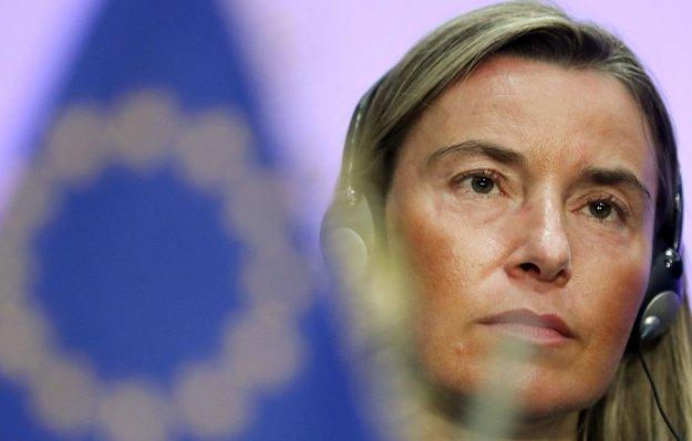 Αυστηρό μήνυμα Μογκερίνι: Η Τουρκία να σεβαστεί τα κυριαρχικά δικαιώματα της Κύπρου