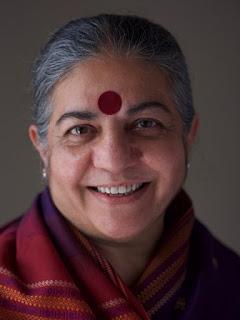 Organic farming activist Dr. Vandana Shiva Guelph blog