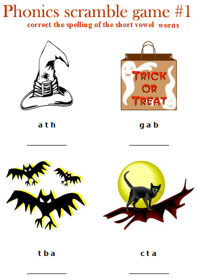 Free Worksheets » Halloween Worksheets For Kids - Free Printable ...