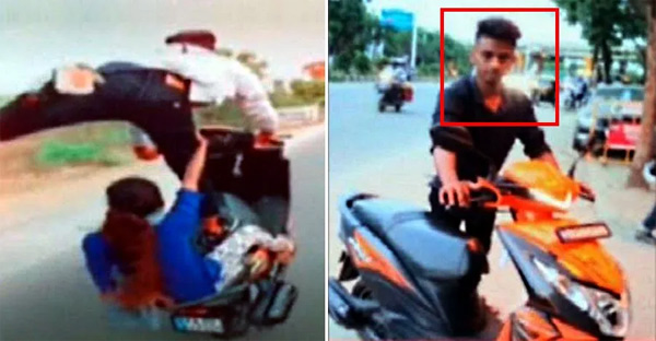 Police Arrest stunter for Tiktok wheelie video with a girl, Bangalore, News, Local-News, Arrested, Entertainment, Video, Police, National