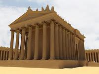 Храм на Бел Ваал в Палмира компютърна възстановка