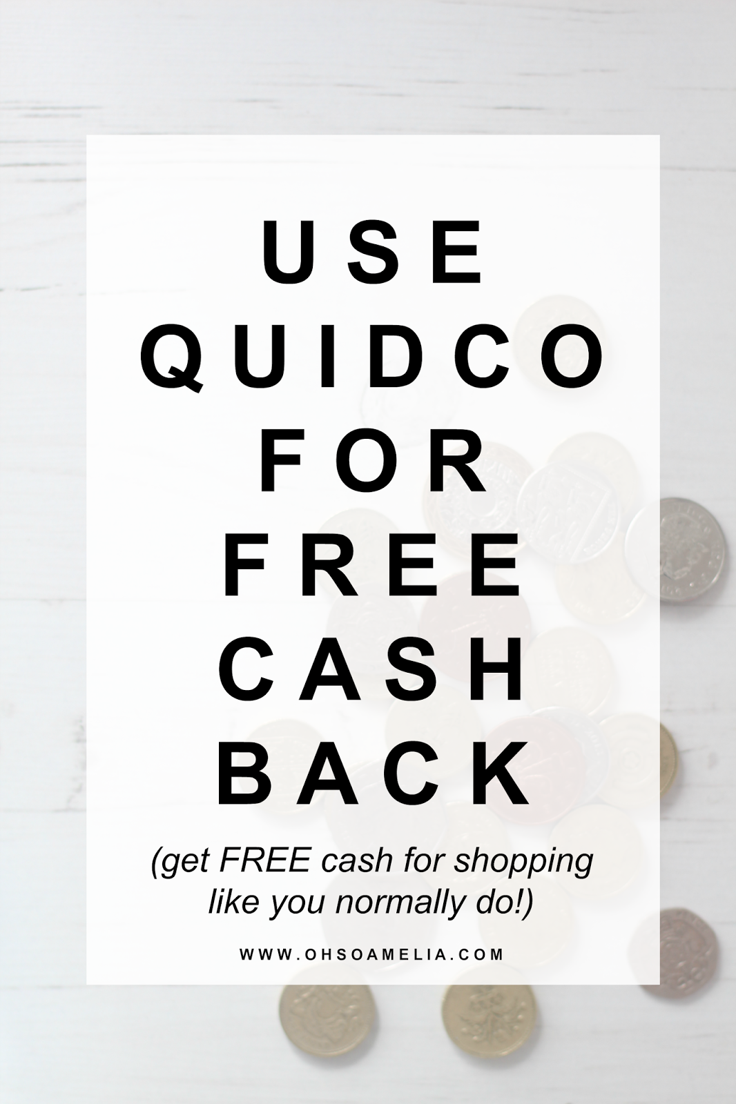 Use Quidco For Free Cash Back & Get £45 FREE!