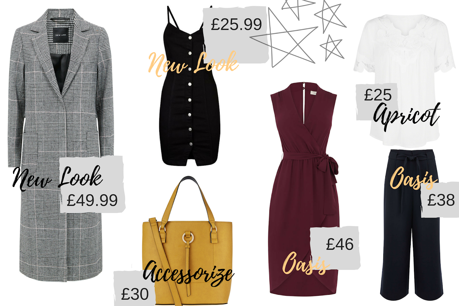 A selection of items which would make a gorgeous Autumnal wardrobe