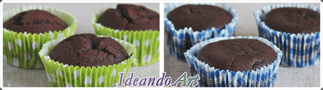 Cupcakes chocolate y mocca