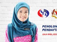 Cara Memohon Jawatan Penolong Pegawai Pendaftaran KP29 - Terbuka Seluruh Negara / Lelaki & Wanita