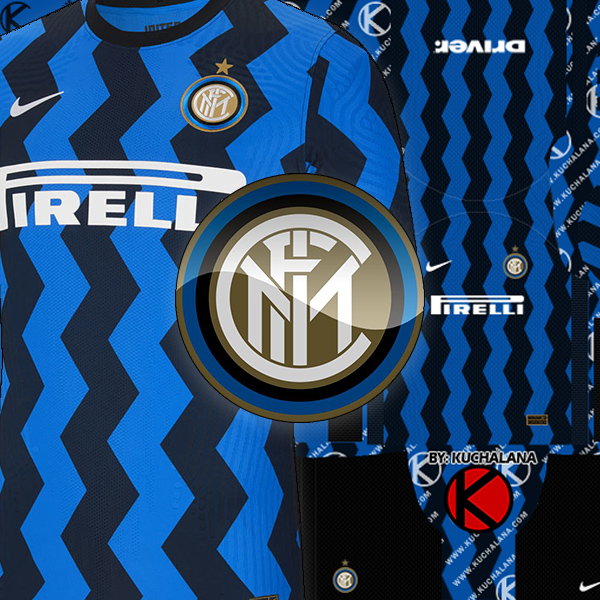 Inter Milan Kits 2020/21 -  DLS2019 Kits