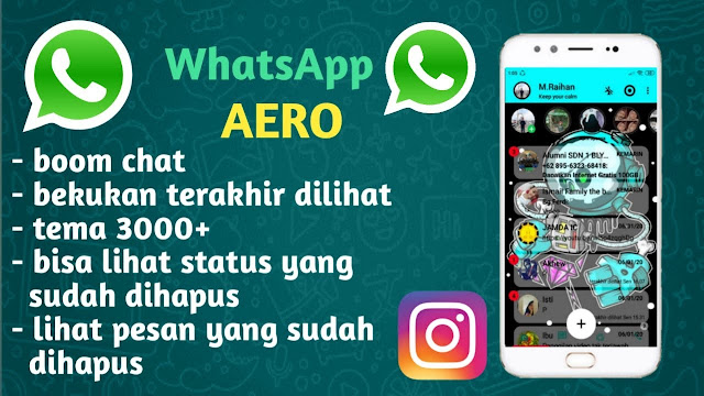 Download Whatsapp Aero Apk Terbaru 2021 Anti Banned [Wa Aero Official]