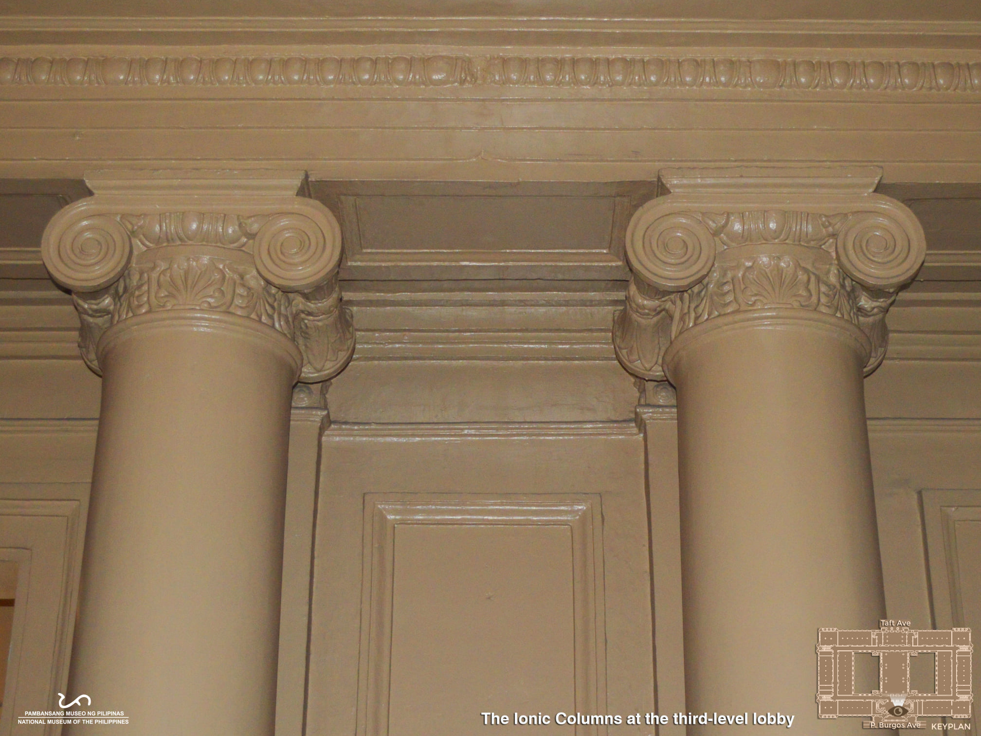 Architectural Ornamentation - National Museum of Fine Arts (formerly the Old Legislative Building - Philippines)