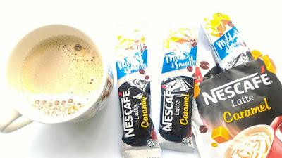 Nescafe Latte Caramel sedap
