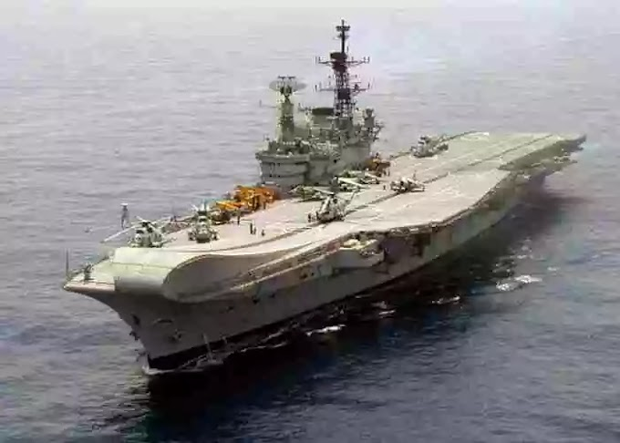 Fire broke out on INS Vikramaditya aircraft carrier, all officers safe: Indian Navy