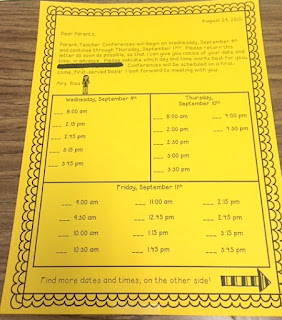Mrs Rios Teaches: Activities, Ideas, and Tips for a Great Open House / Parent Night with Freebies