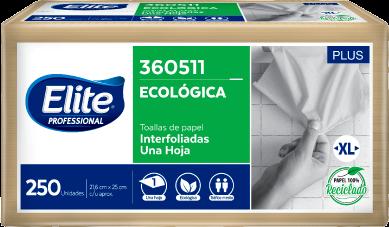 Papel toalla Interfoliado Natural XL