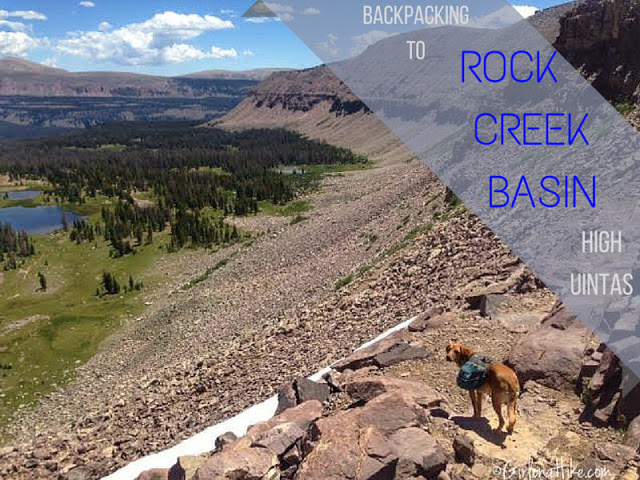The Best Backpacking Trips in the Uintas, rocky sea pass uintas